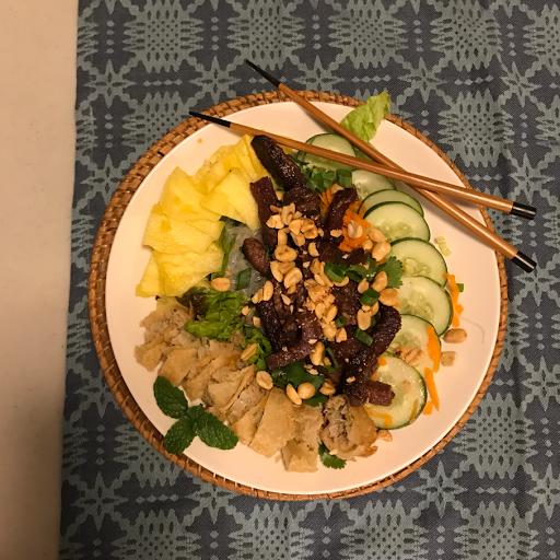 vermicelli bowl recipe
