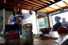 Taller de reposteria Artesanal ofreicido en la Casa del Marques de la Hacienda La esperanza.