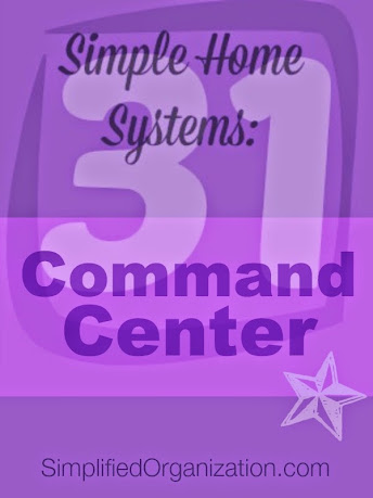 Set up simple systems: Kitchen Command Center
