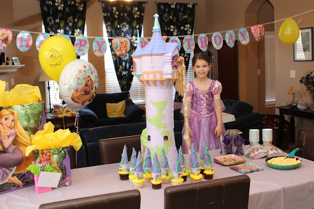 The Cupcakes Were Rapunzel Towers