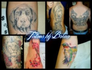 Tattoos by Brian   Inner Vision Bodyart