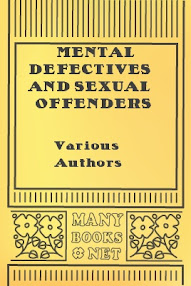 Cover of Various Authors's Book Mental Defectives And Sexual Offenders
