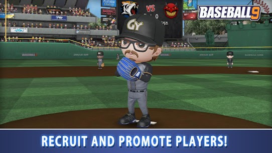 BASEBALL 9 MOD APK (Unlimited Money) 3
