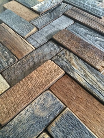 Commona My House Recycled Barn Wood Tile