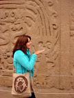 Vasilisa at Chan Chan Ruins (Trujillo, Peru)s