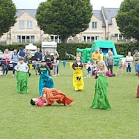 Fun Day 25th May 2015 - Sack Race