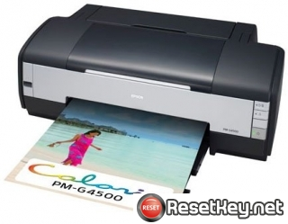 Reset Epson PM-G4500 printer Waste Ink Pads Counter
