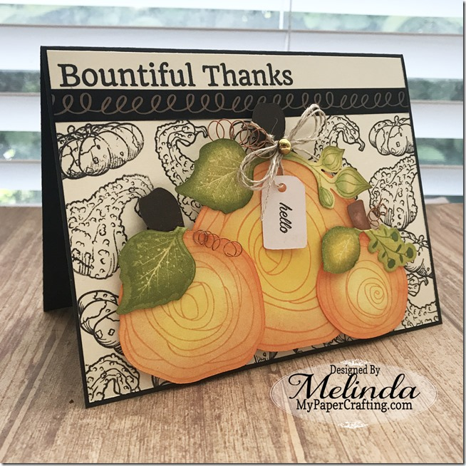 FSJ Bountiful Thanks Card w Pumpkins