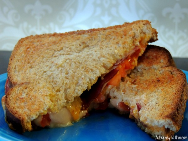 Grown up Grilled Cheese Take a bite