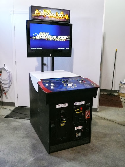 Golden Tee Fore Golf Game Cabinet Conversion | Tech Tips and Toys