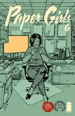Actualización 25/09/2016: Se agrega el número #6 de Paper Girls, por Heisenberg y Jota1602.