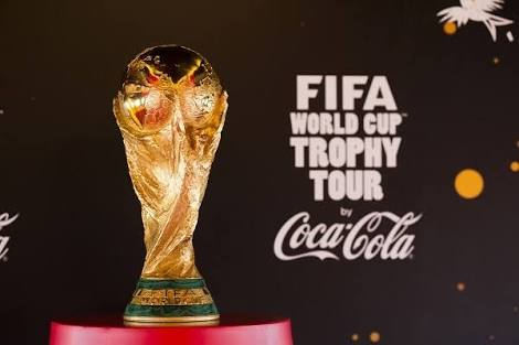 BREAKING: World Cup Trophy Hits Nigeria Today
