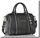 Lancaster Paris Handbags Small Grained leather Bowling or Duffle Bag