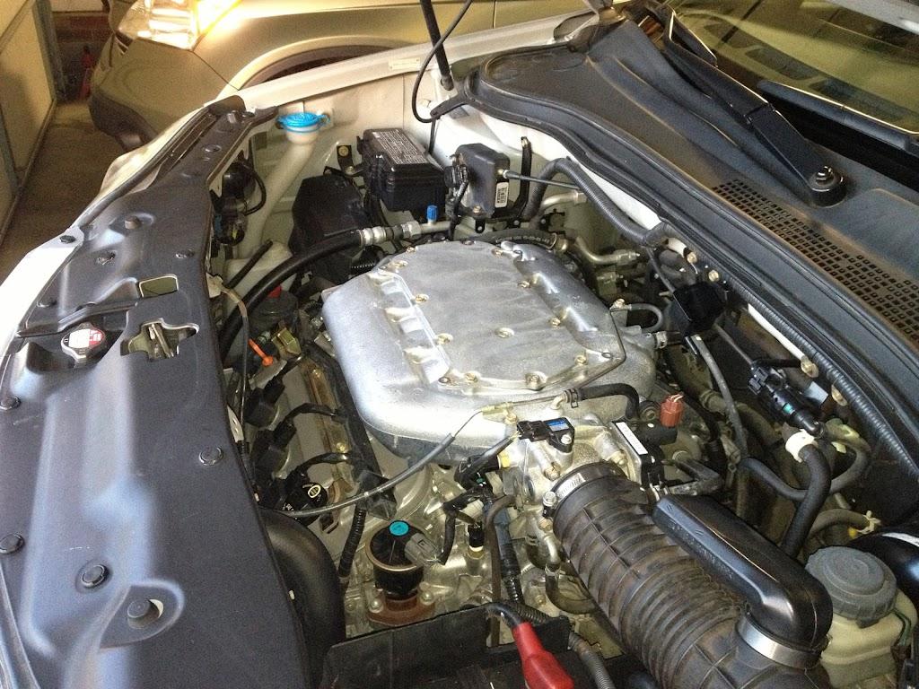 remove  engine    cadillac escalade ext
