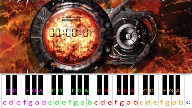 Through the Fire and Flames by Dragonforce ~ Piano Letter ...Fire And Flames Dragonforce