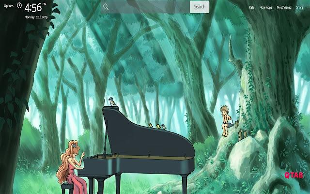 Piano No Mori Wallpapers New