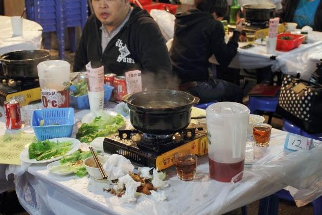 Famous hot pots of Hong Kong