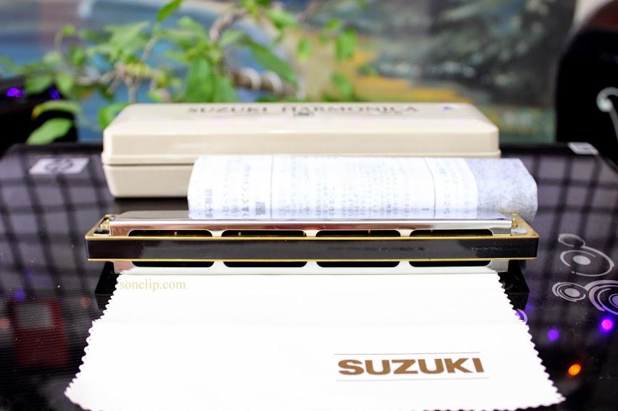 Kèn Harmonica - Suzuki 2 Timer Tremolo SU-24 (key A)