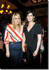HOLLYWOOD, CA - MARCH 30:  Rodarte Co-Founders Kate Mulleavy (L) and Laura Mulleavy attend the Coach & Rodarte celebration for their Spring 2017 Collaboration at Musso & Frank on March 30, 2017 in Hollywood, California  (Photo by Donato Sardella/Getty Images for Coach)