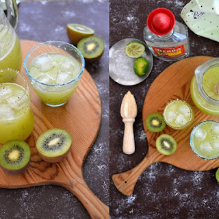 Kiwi Margarita {& How to Turn Any Fruit Into a Margarita} Recipe