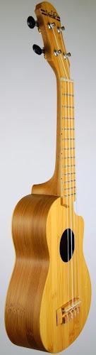 China Tiawan bamboo cutaway soprano ukulele