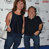 OIC - ENTSIMAGES.COM - Samantha Davis and Warwick Davis at the  Jeans for Genes Day 2015 - launch party in London 2nd September 2015 Photo Mobis Photos/OIC 0203 174 1069
