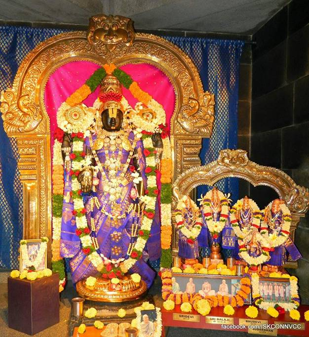 ISISKCON Pune Deity Darshan 16 Feb 2016 (2)