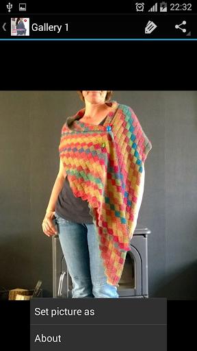 Crochet Pattern Shawl Designs