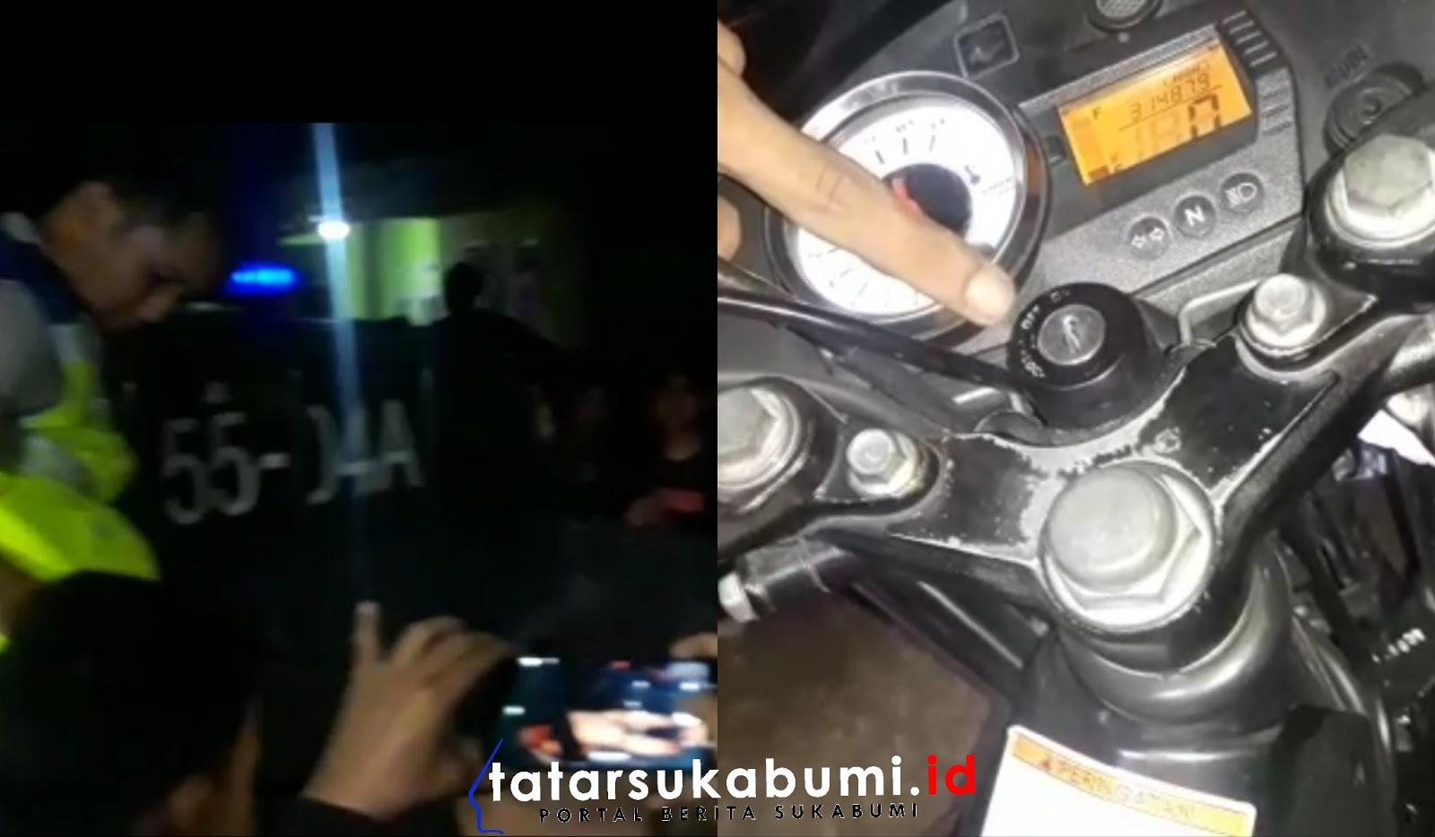 Maling Motor Apes di Sukabumi, Pelaku Nyaris Babak Belur di Hajar Warga