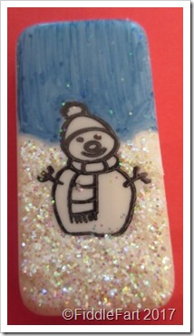 Christmas Domino Art