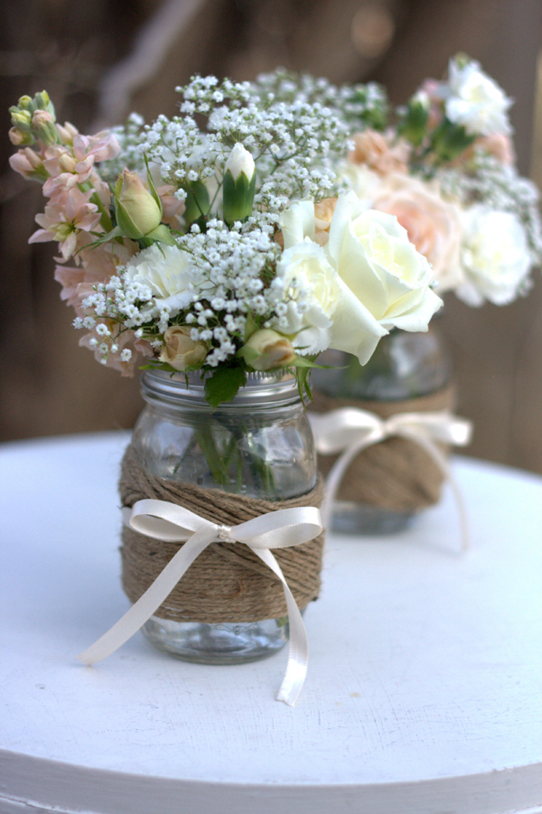 Show me Mason jar centerpieces photo 3079622-1