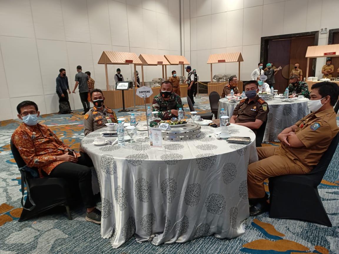 Kapolres Soppeng hadir dalam Rapat Koordinasi dan Konsolidasi Pilkada Serentak Tahun 2020