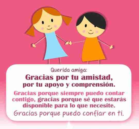 Gracias amig@ por tu amistad