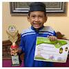 Mizyan Haziq, Anak Ustadz Abdul Somad Juara 2 Lomba Hapalan Alquran