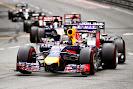 Sebastian Vettel falls back because of gearbox trouble