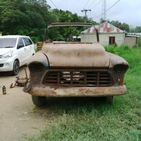 Bahan truk klasik chevy amerika