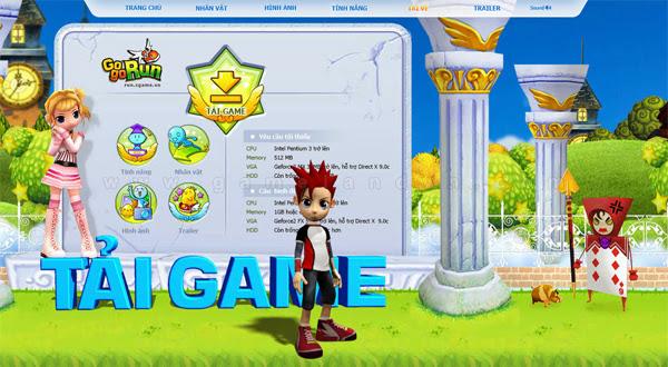 Trang giới thiệu GoGoRun đã chính thức trình làng 19