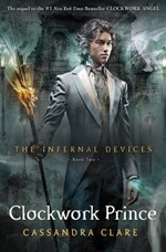 Cassandra Clare - Clockwork Prince cover