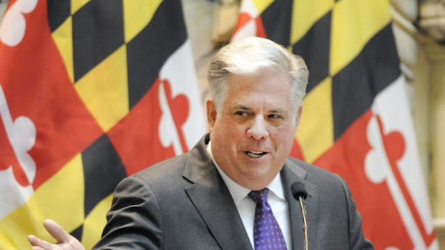 Maryland's GOP governor agnostic about Trump
