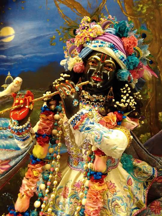ISKCON Hungary Deity Darshan 25 Dec 2015 (2)