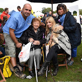 OIC - ENTSIMAGES.COM - TV Vet Mark Abraham and Michelle Collins at the  PupAid Puppy Farm Awareness Day 2015 London 5th September 2015 Photo Mobis Photos/OIC 0203 174 1069