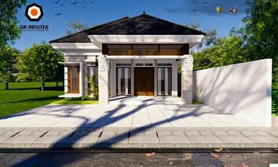 desain rumah kecil cantik minimalis