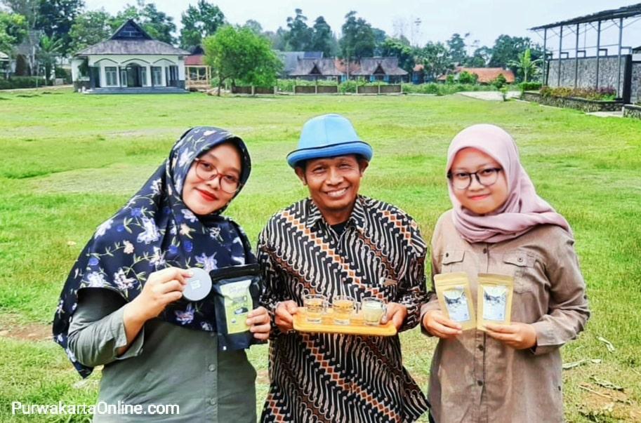 Produk Teh Asli Purwakarta Go Nasional. Apud: Kami buat produk teh dengan sentuhan inovasi