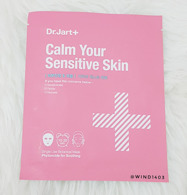 Dr. Jart++ Calm Your Sensitive Skin Mask