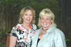 Promenade co-chairs Kathleen Sorrell and Suzanne Hughes.