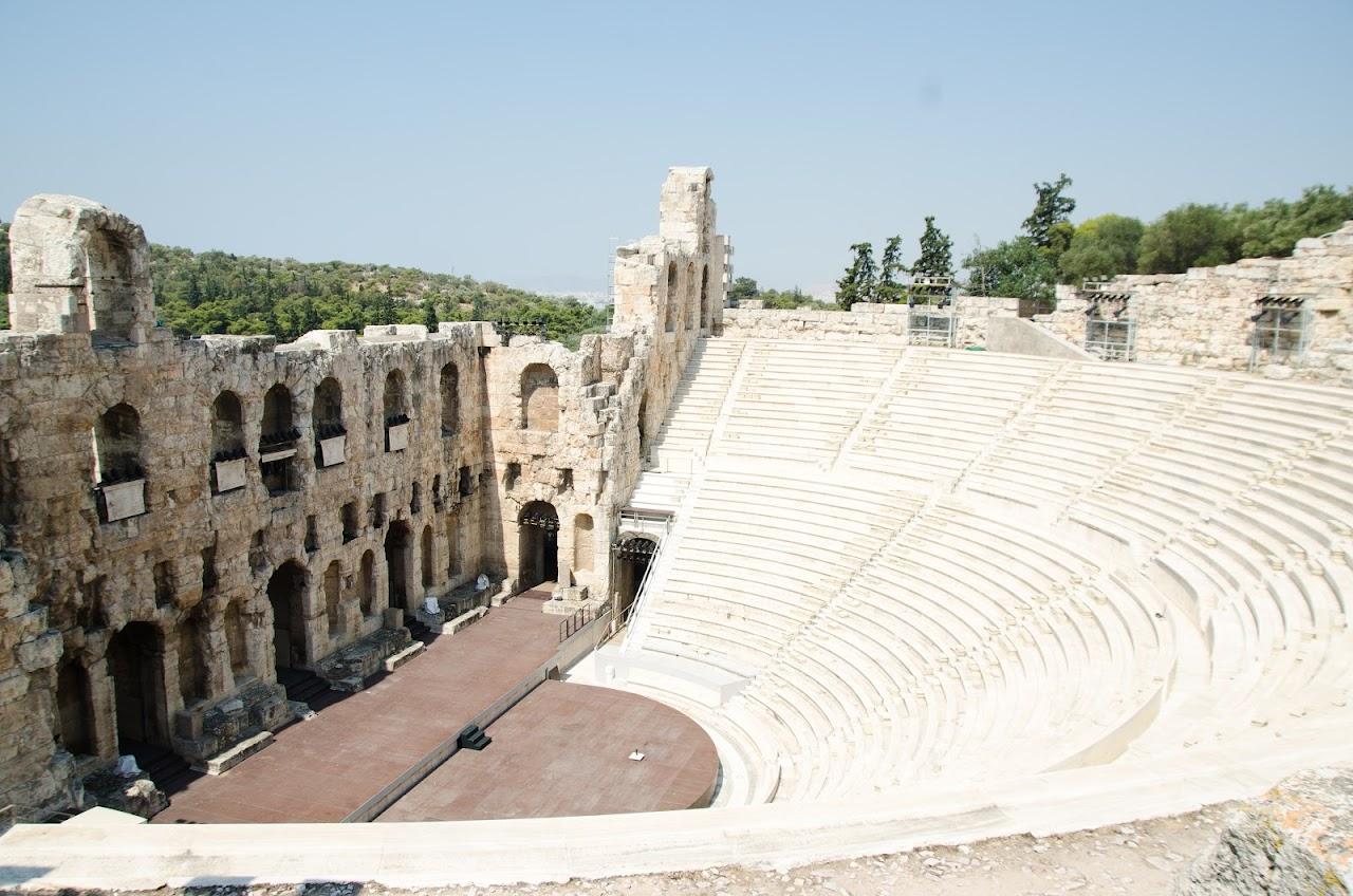 Amphitheatre outside the Acropolis