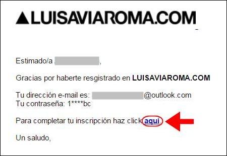 Abrir mi cuenta Luisaviaroma - 669
