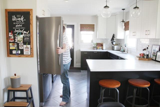 Open-Refridgerator-Door