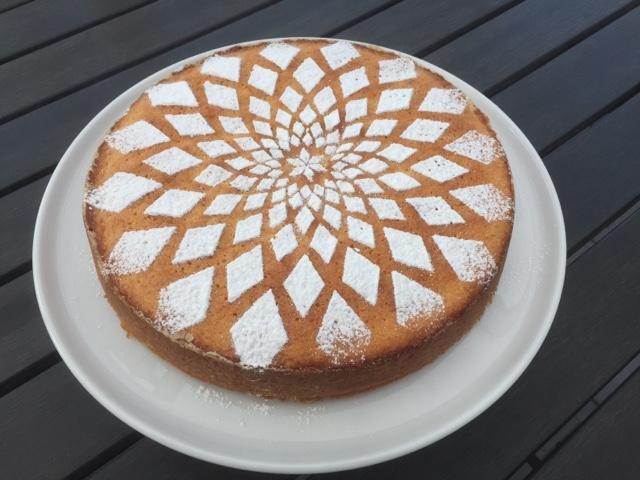 MULLEHUSET DK: Mandel-citron-kage