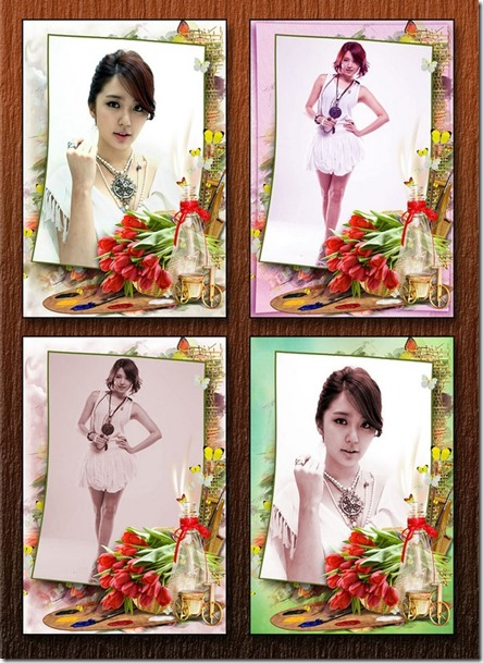 Spring Canvas Frames